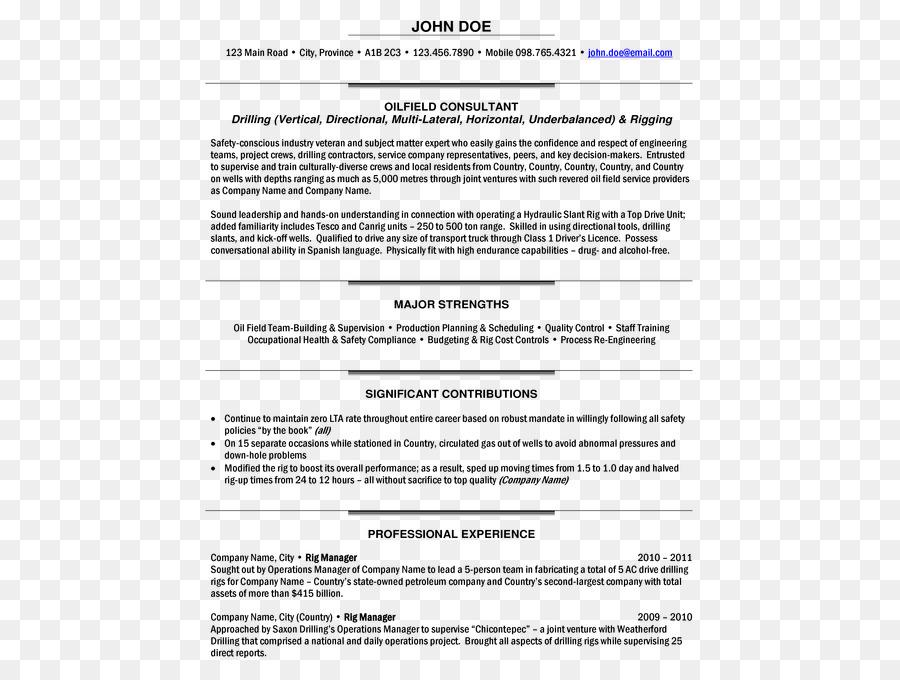 Résumé Template Project Manager Cover Letter Job Description   Malampaya  Gas Field