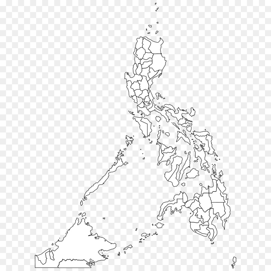 Outline Of The Philippines Blank Map Geography Map Png Download
