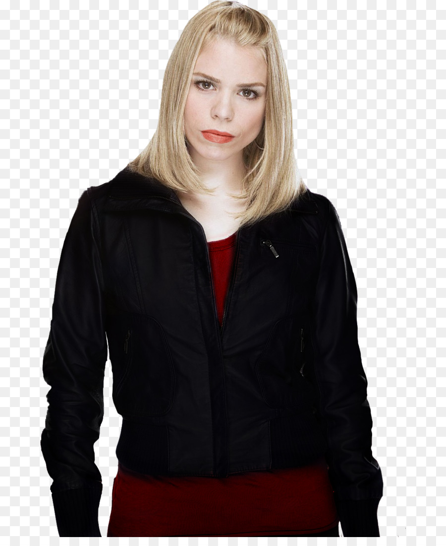 Billie Piper Leather Jacket Doctor Who Rose Tyler Ninth Heart