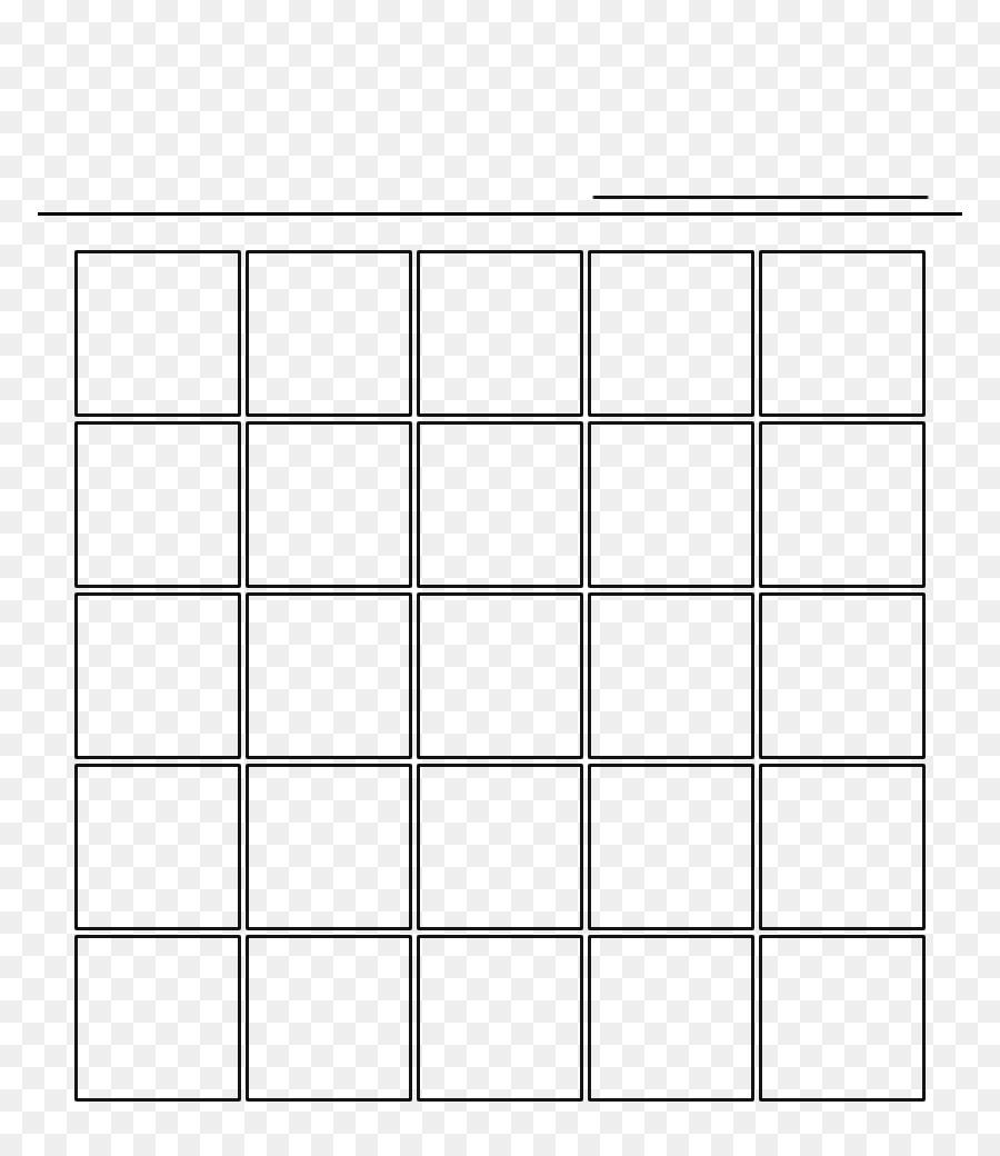 Bingo Vorlage Schach Muster Diagramme Png Herunterladen 8321024