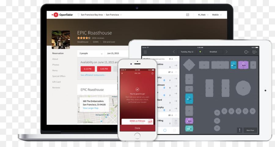 OpenTable Computer Software Restaurant Management Table Png - Restaurant table management software free