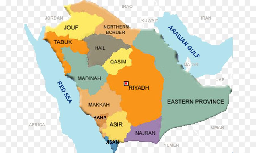 Mecca Riyadh Medina Jeddah Ta\'if - map png download - 737*540 - Free ...