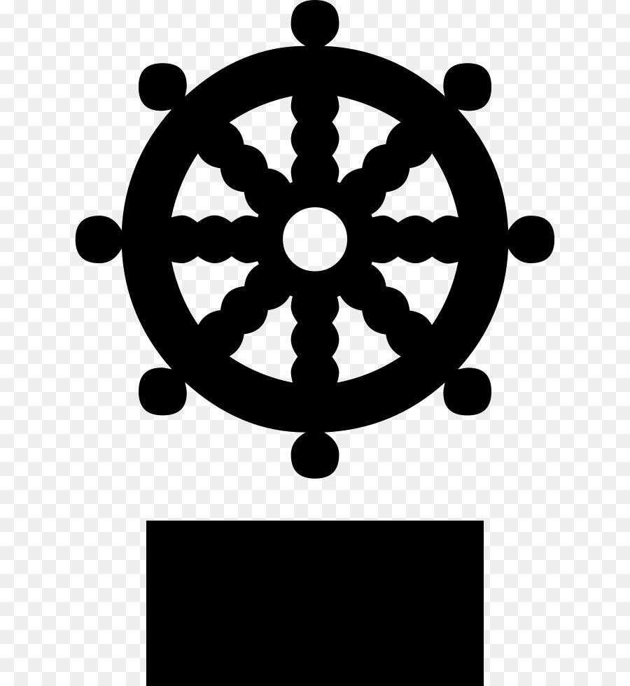 Dharmachakra Buddhist Symbolism Buddhism Buddhism Png Download