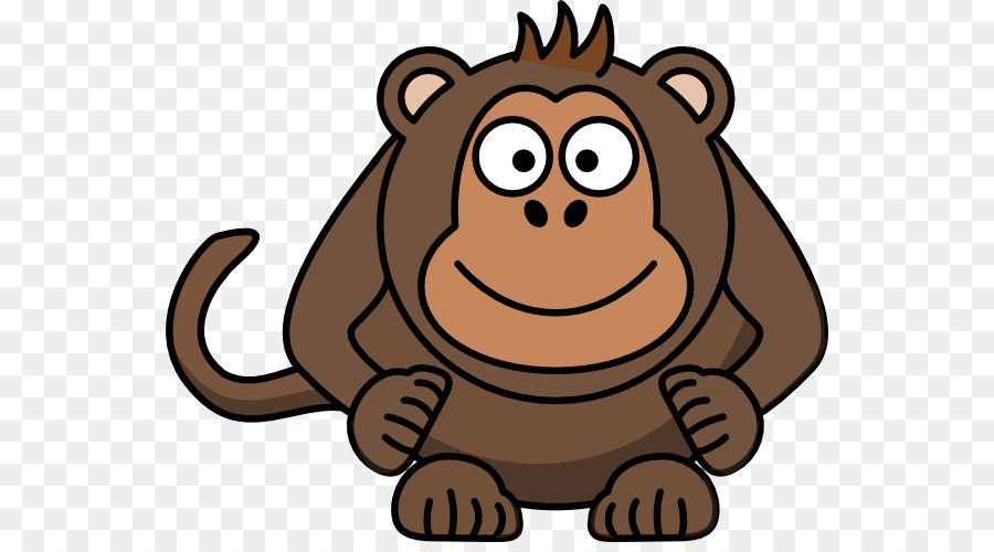 ape primate chimpanzee monkey clip art monkey png download 600 rh kisspng com