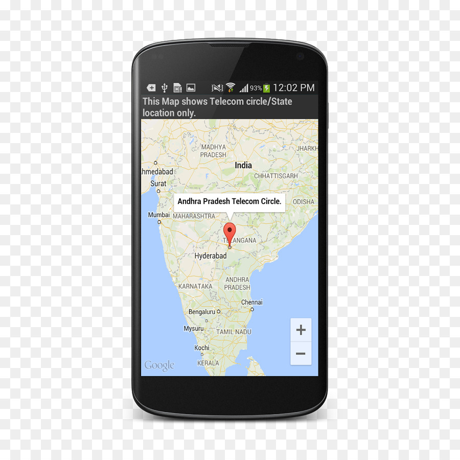 Phone Tracking with Name, location and Address Map