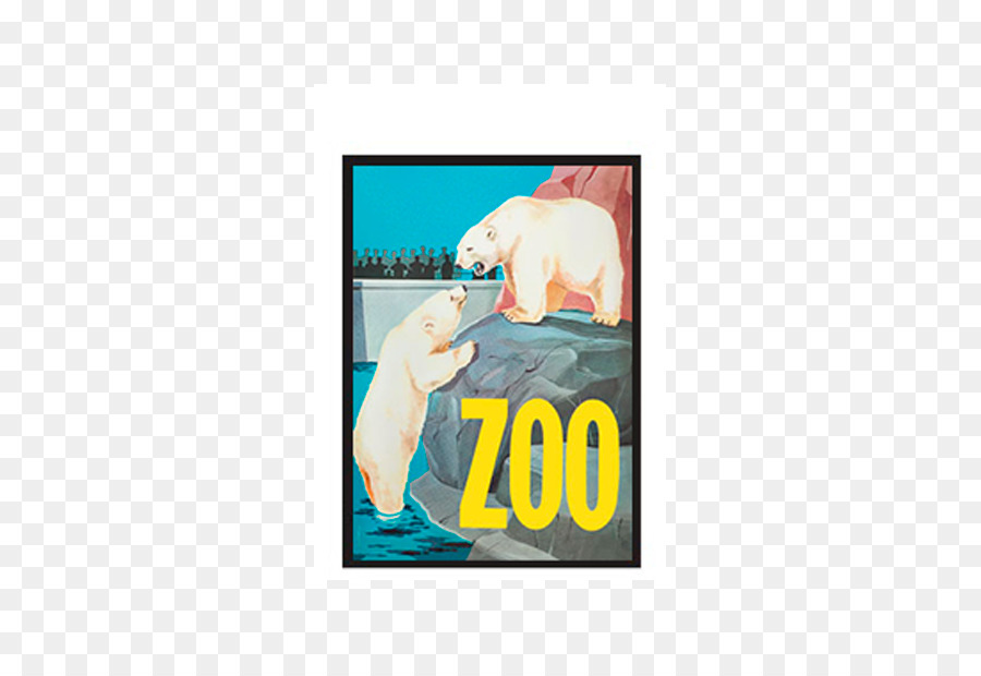 Copenhagen Zoo Polar bear Poster Picture Frames - polar bear png ...