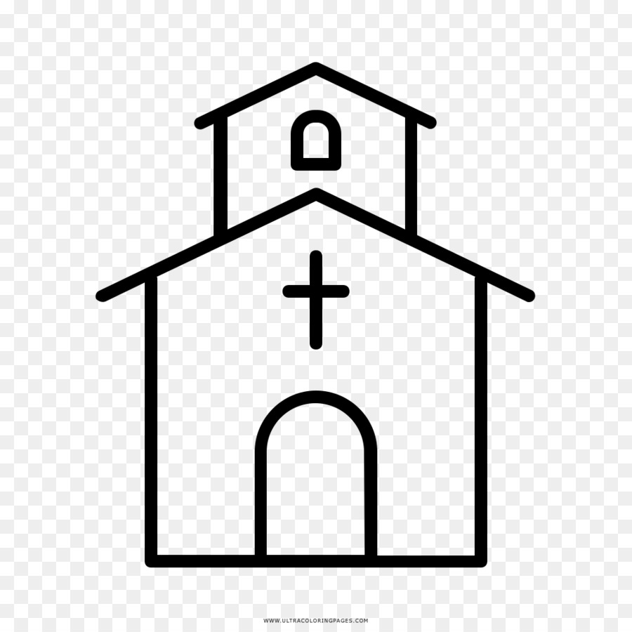 Iglesia cristiana Dibujo para Colorear libro - La iglesia 1000*1000 ...