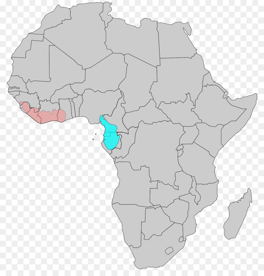 Blank map Mali Atlas of Africa The power of maps - map png download ...