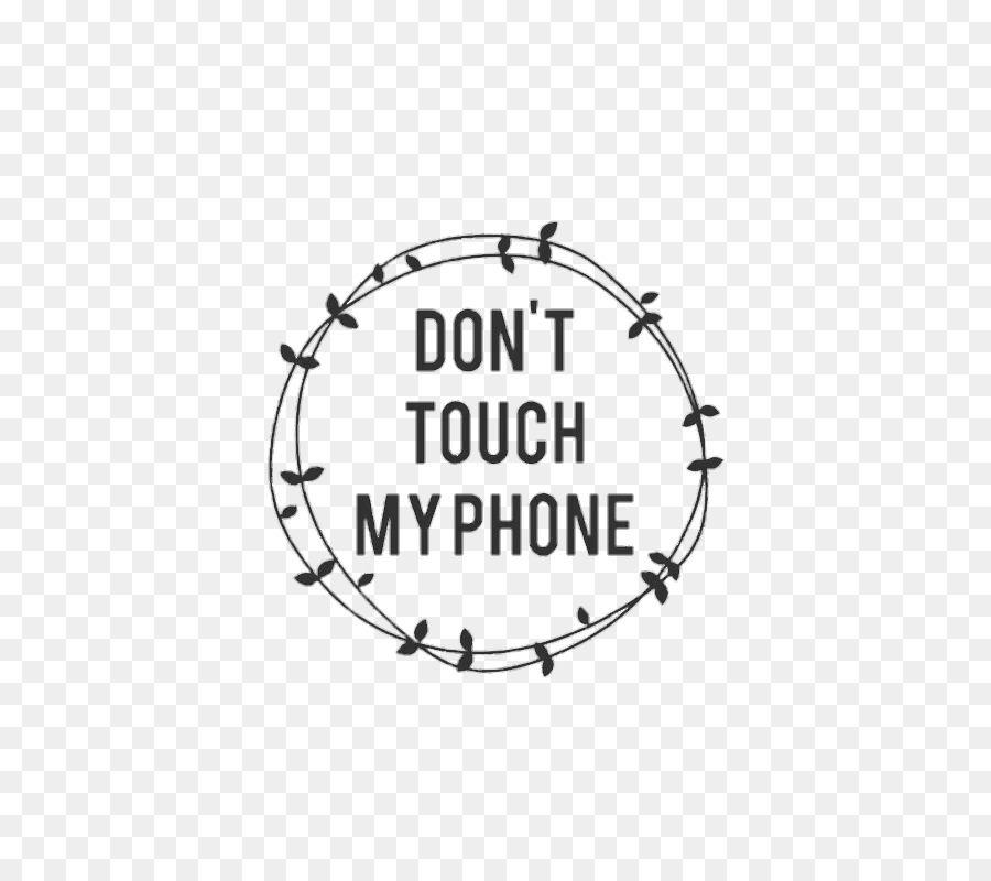 Telephone Desktop Wallpaper Touchscreen Lock screen MyPhone - Dont Touch png download - 499*789 - Free Transparent Telephone png Download.