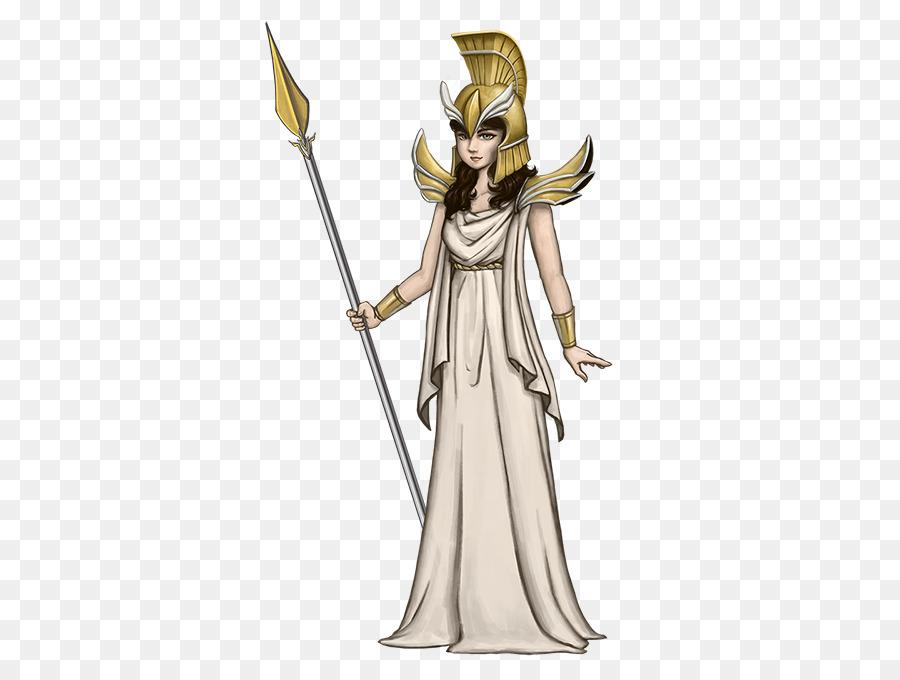 Goddess Athena Greek Mythology Deity Greek Goddess Png Download