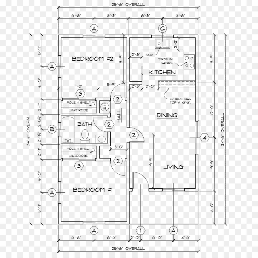 Floor plan technical drawing modern home architectural sketch png download 15001500 free transparent floor plan png download