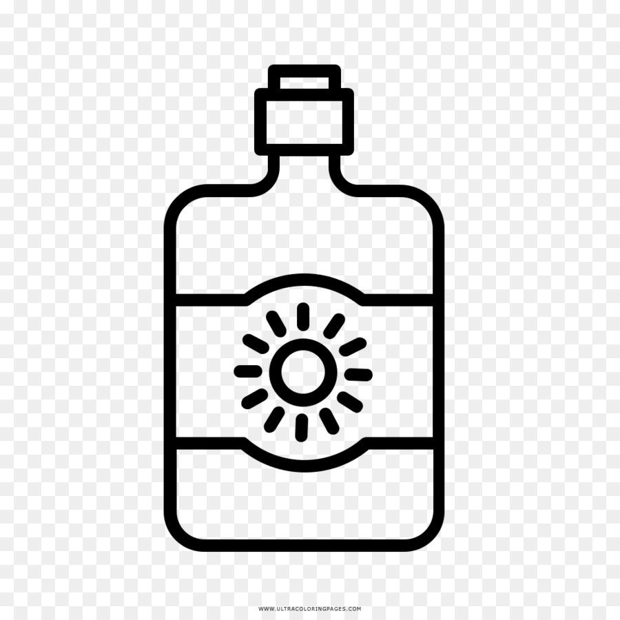 Protezione Solare Libro Da Colorare Disegno Icone Del Computer Per