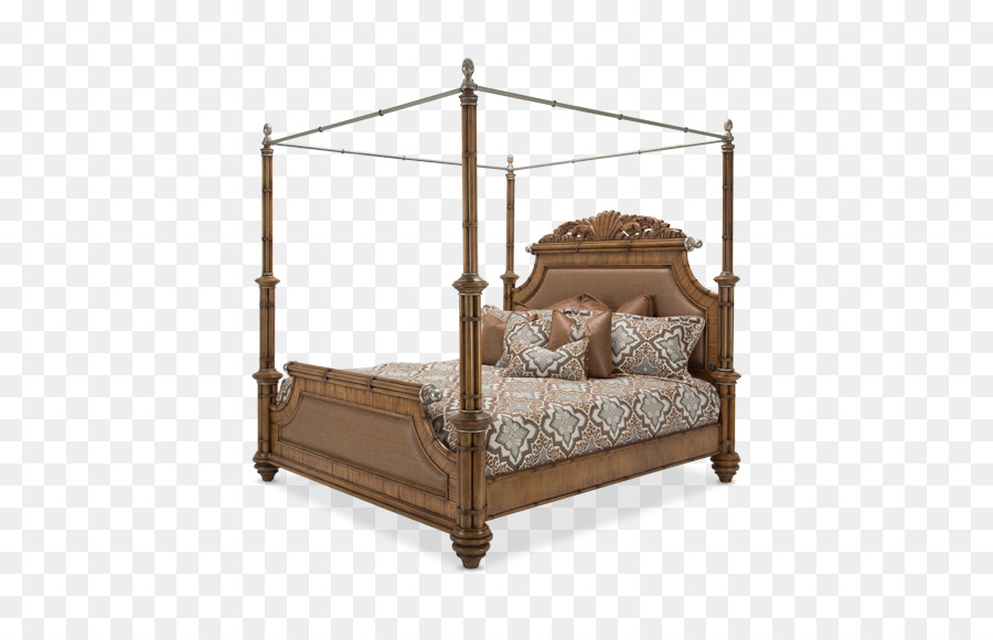 Four-poster bed Canopy bed Bedroom Furniture Sets - Canopy Bed png ...