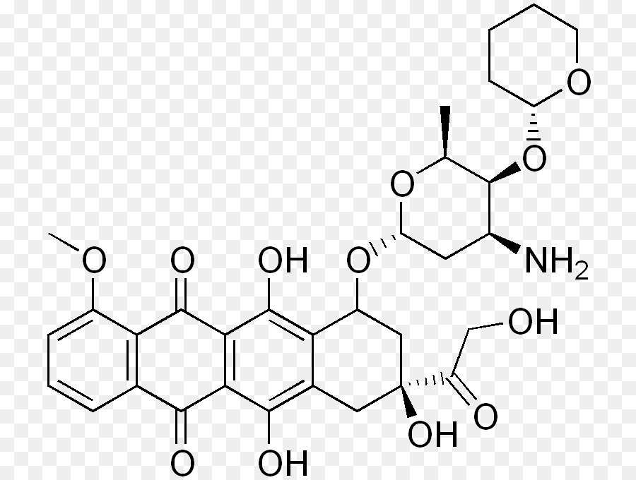 Doxorubicin Chemical Structure Chemical Compound Chemical Substance