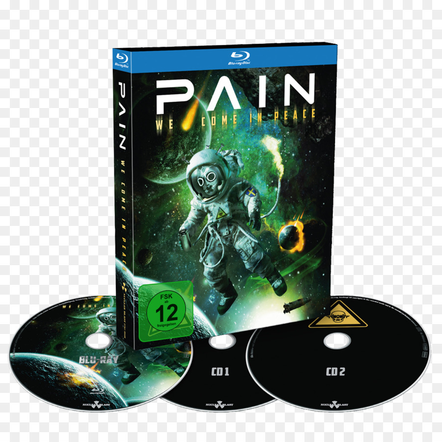 DVD Pain We Come In Peace Coming Home Nuclear Blast