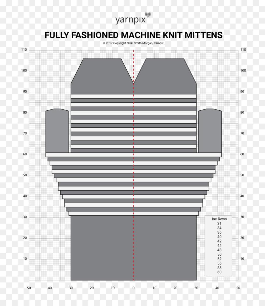 Knitting machine Fully fashioned knitting Mitten Pattern - Quick ...