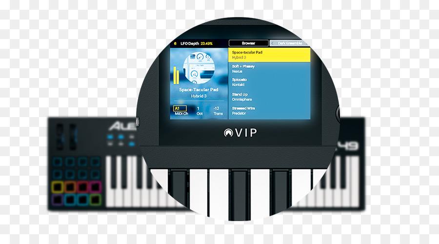 Piano De Instrumentos Musicales Electrónicos Alesis Vx49 Usb