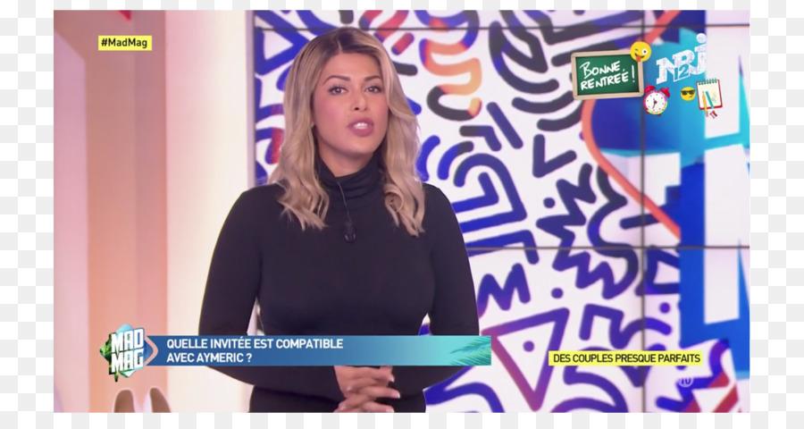 Blonde Haare Farben Nrj 12 Tv Moderator Perucke Ayem Nour Png
