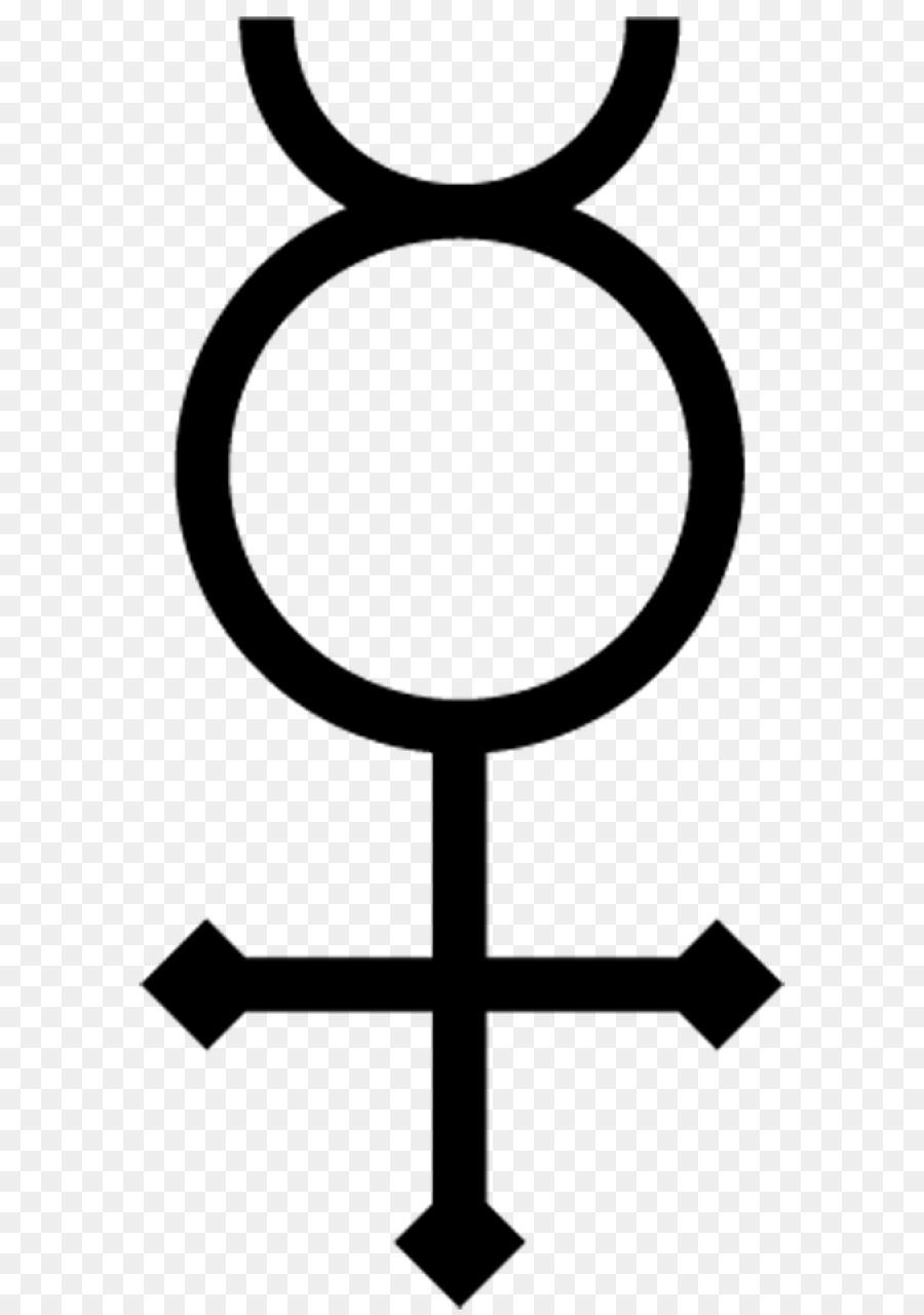 Alchemical Symbol Alchemy Mercury Water Symbol Png Download 640