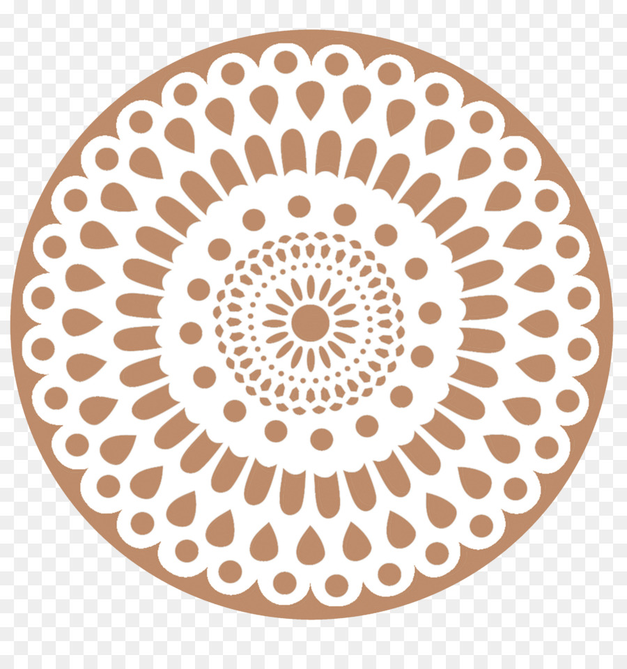 Doily Crochet Rope Paper Pattern - doily png download - 900*953 ...