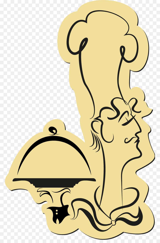Wall decal Sticker Marcos Clip art - camarero Formatos De Archivo De ...