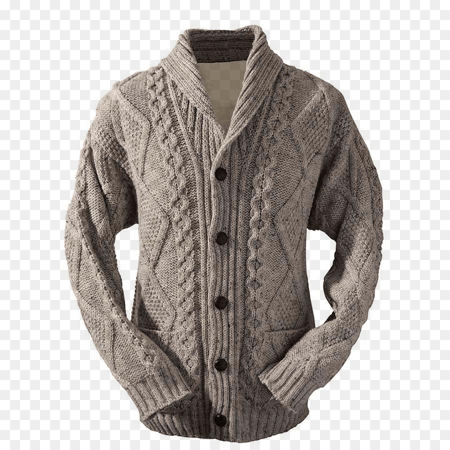 Chaqueta Sudadera con capucha patrón de Tejido de punto Cuello ...