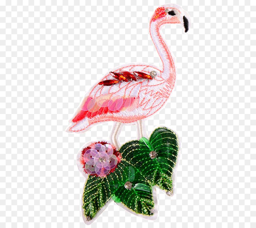 Diseños de bordado Bordado parche de Hierro-en los Flamingos ...