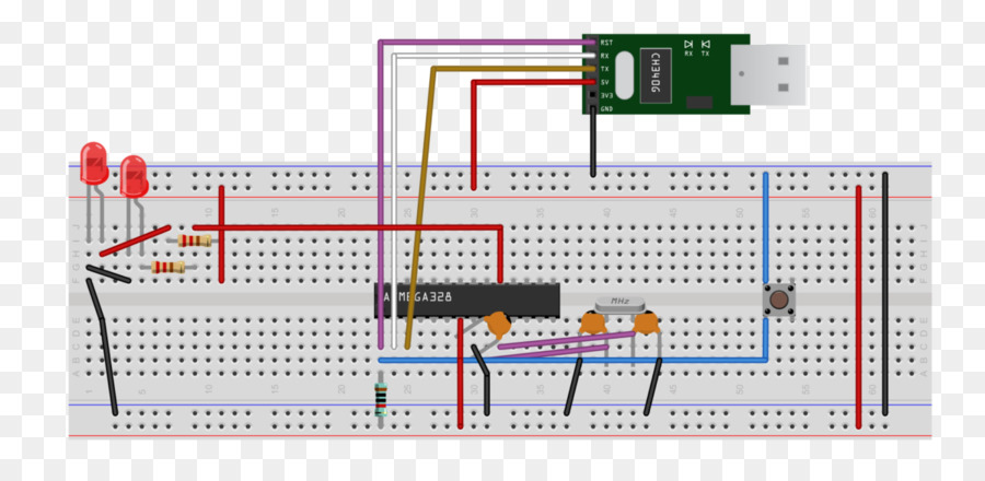 Stupendous Microcontroller Breadboard Electronics Arduino Wiring Diagram Wiring Digital Resources Indicompassionincorg