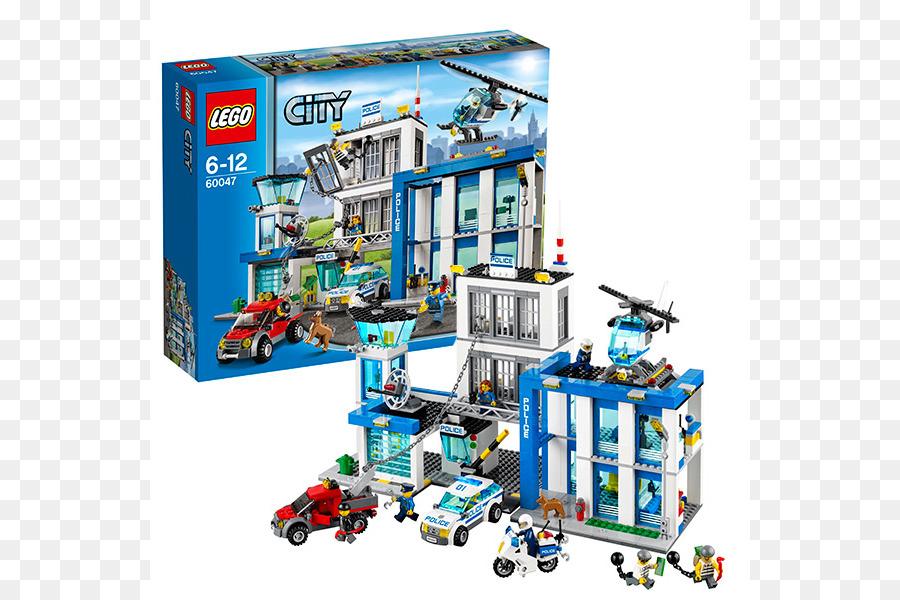 Amazoncom Lego City Lego 60047 City Police Station Toy Toy Png