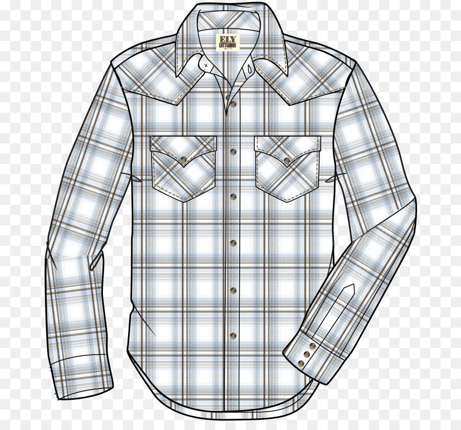 Vestido de camisa de Tartán Cuello Simplicidad Patrón Patrón ...