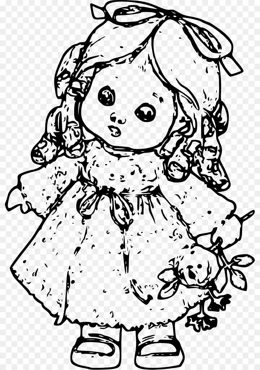 Buku Mewarnai Gambar Boneka Barbie Anak Boneka Unduh Wajah
