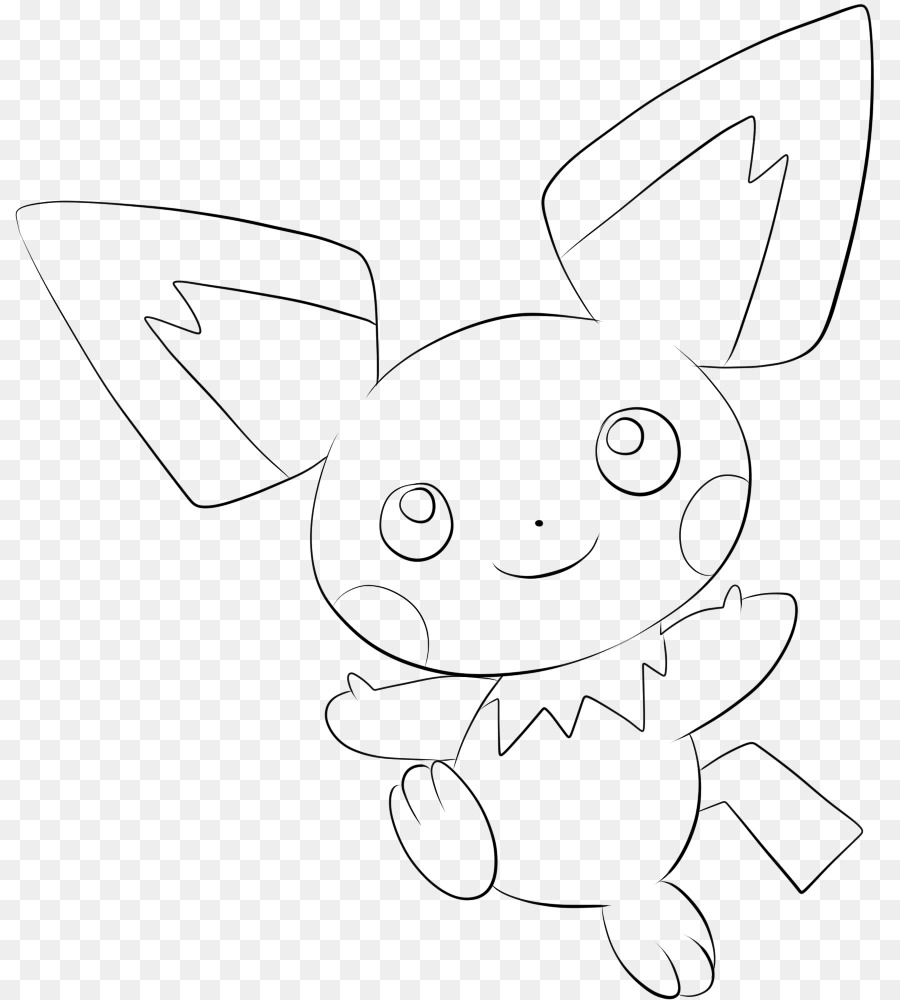 Pokemon X And Y Coloring Book Pikachu Rabbit