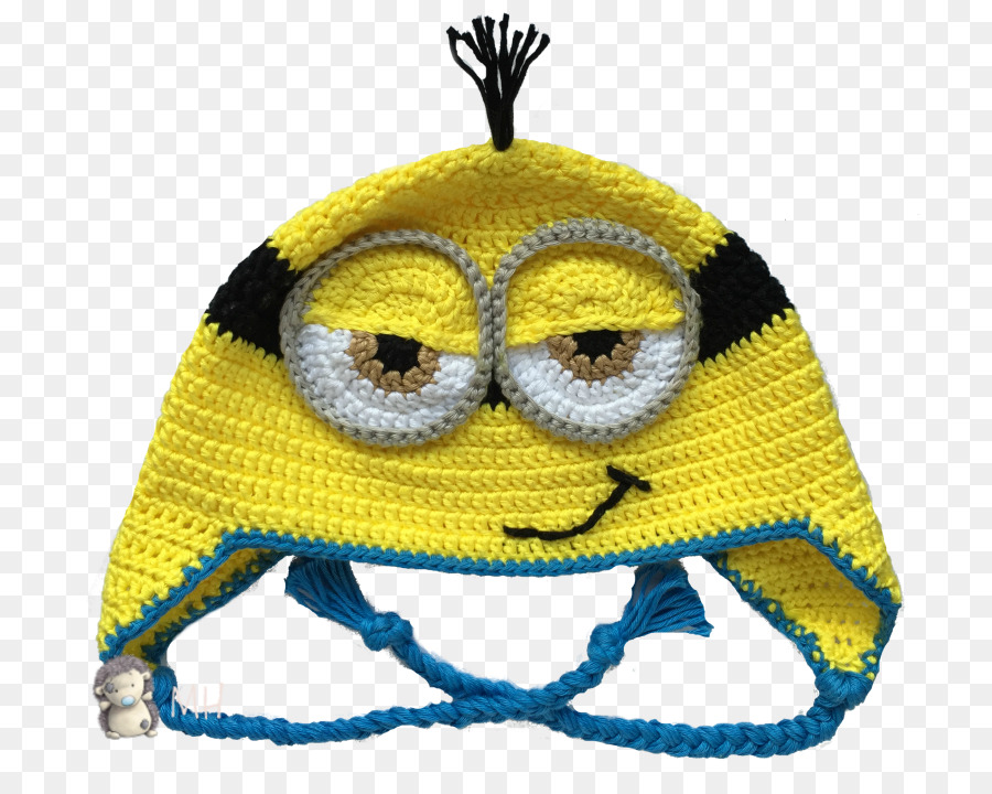 Kevin The Minion Beanie Crochet Bonnet Pattern Beanie Png Download