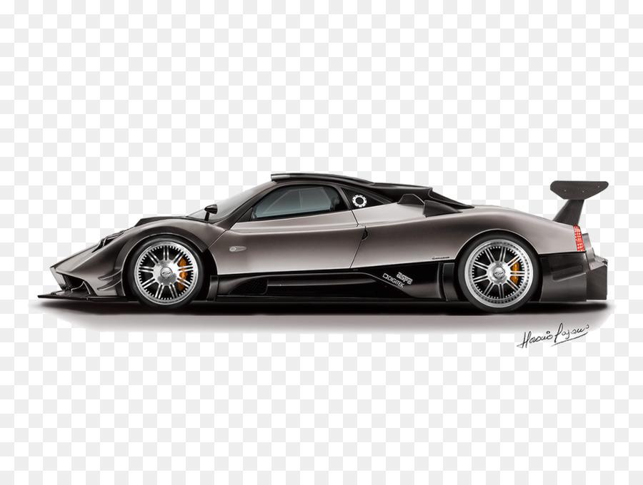 Pagani Zonda R Sports Car   Car