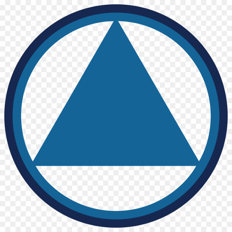 Ottawa Area Intergroup Of Alcoholics Anonymous Logo Triangle Clip