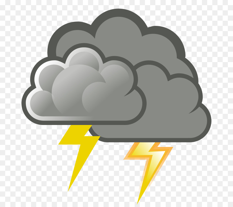 Rain thunder. Cloud clipart png download