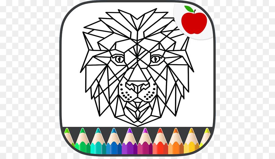 La geometría 著色頁 libro para Colorear Juego - libro png dibujo ...