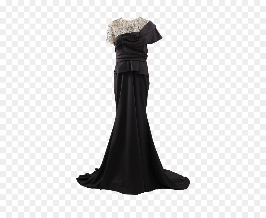 Little black dress Evening gown Ball gown - dress png download - 571 ...