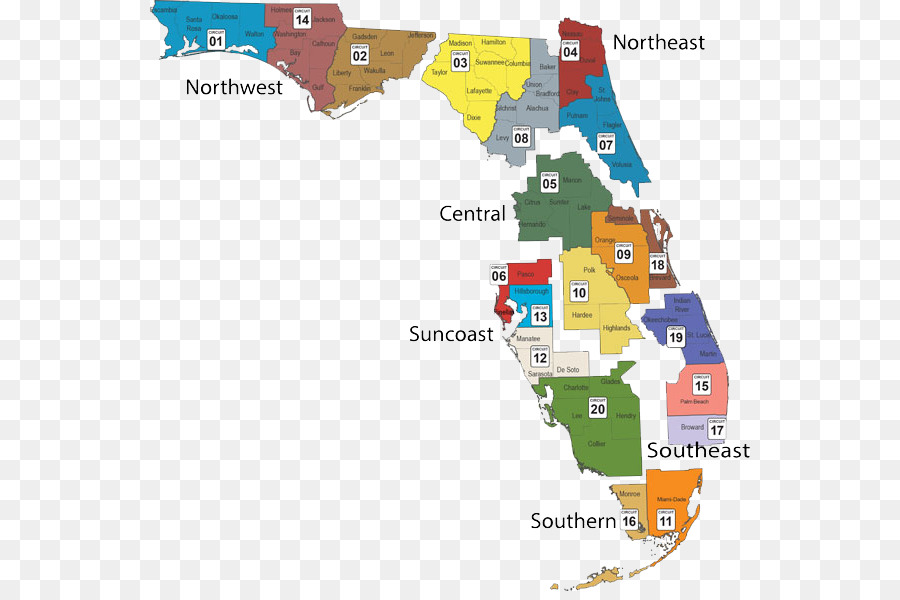 World map Florida Department of Children and Families Duval County ...