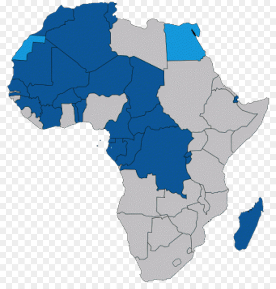 Map Of Africa French.World Cartoon Png Download 1000 1026 Free Transparent Africa Png