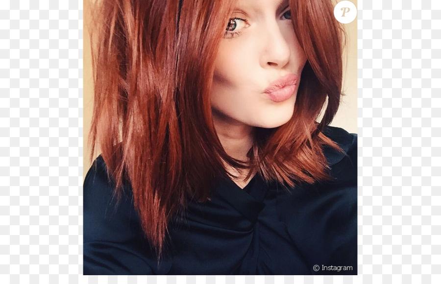 Red Hair Copper Human Hair Color Hairstyle Auburn Hair Coiffure