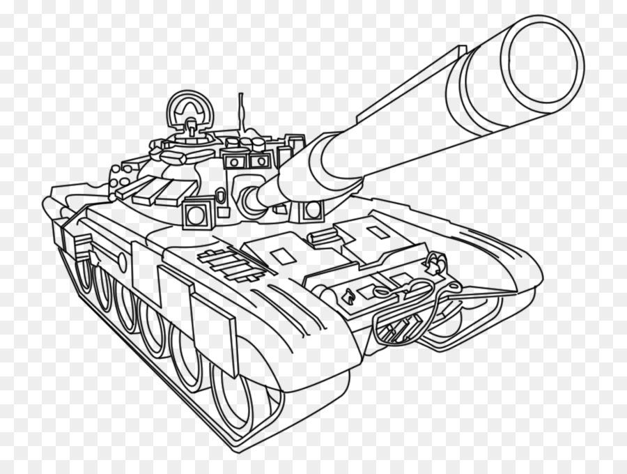 Libro para colorear Tanque del Ejército vehículo Militar - ejército ...