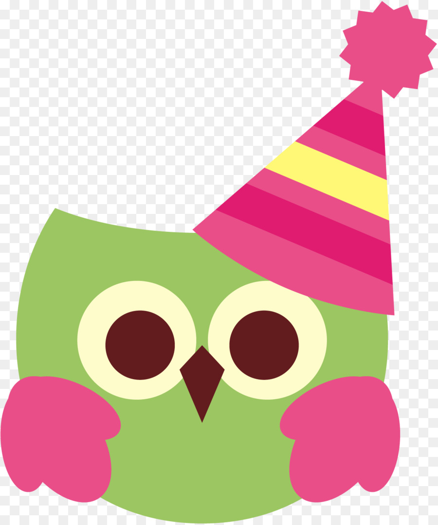 Owl Bird Birthday Greeting Note Cards Clip Art Owl Png Download
