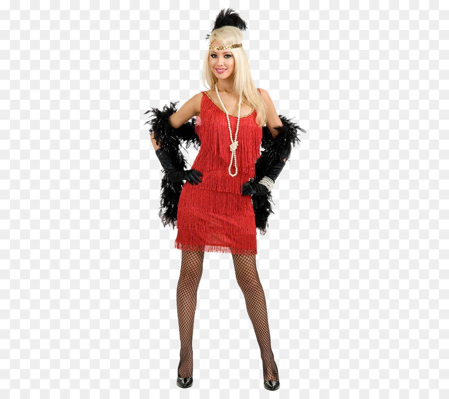 Flapper 1920s Halloween costume Dress - dress png download - 362*800 ...