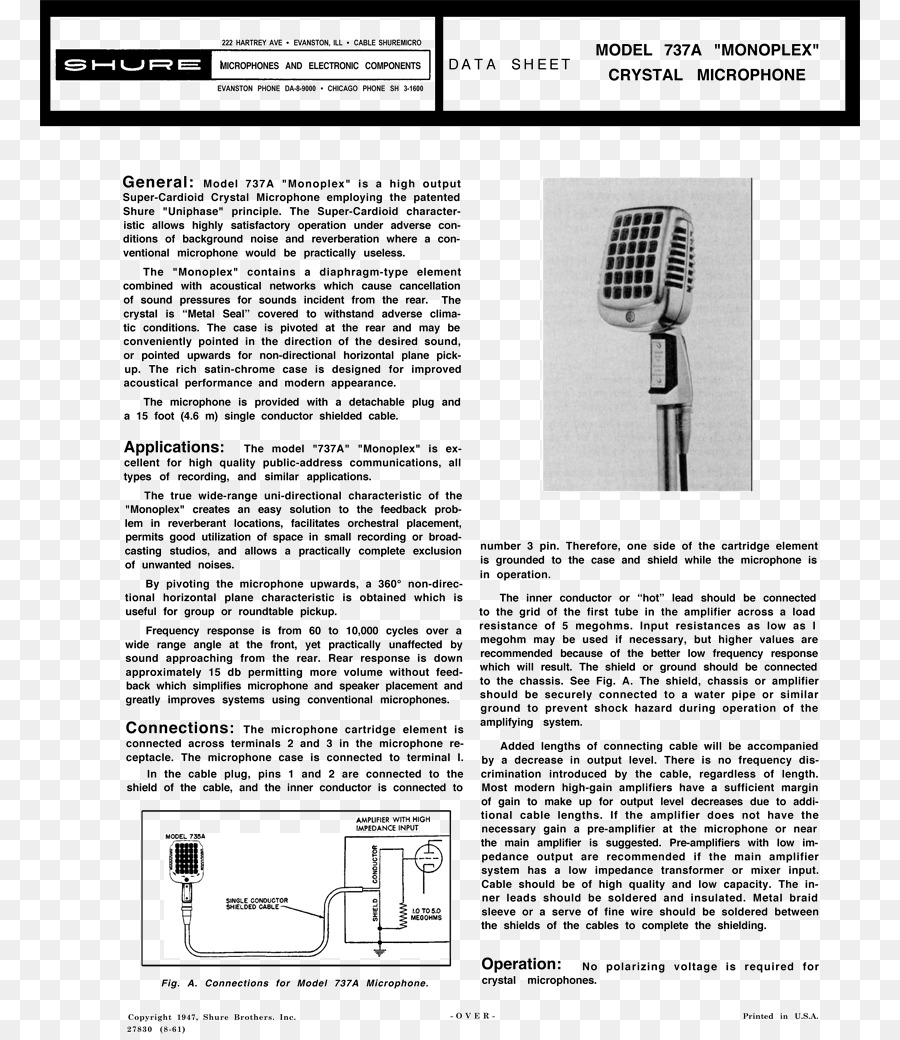Shure Microphone Cable Wiring Diagram Reinvent Your 577b Sm58 Download 820 Rh Kiss Com 4 Pair Ev