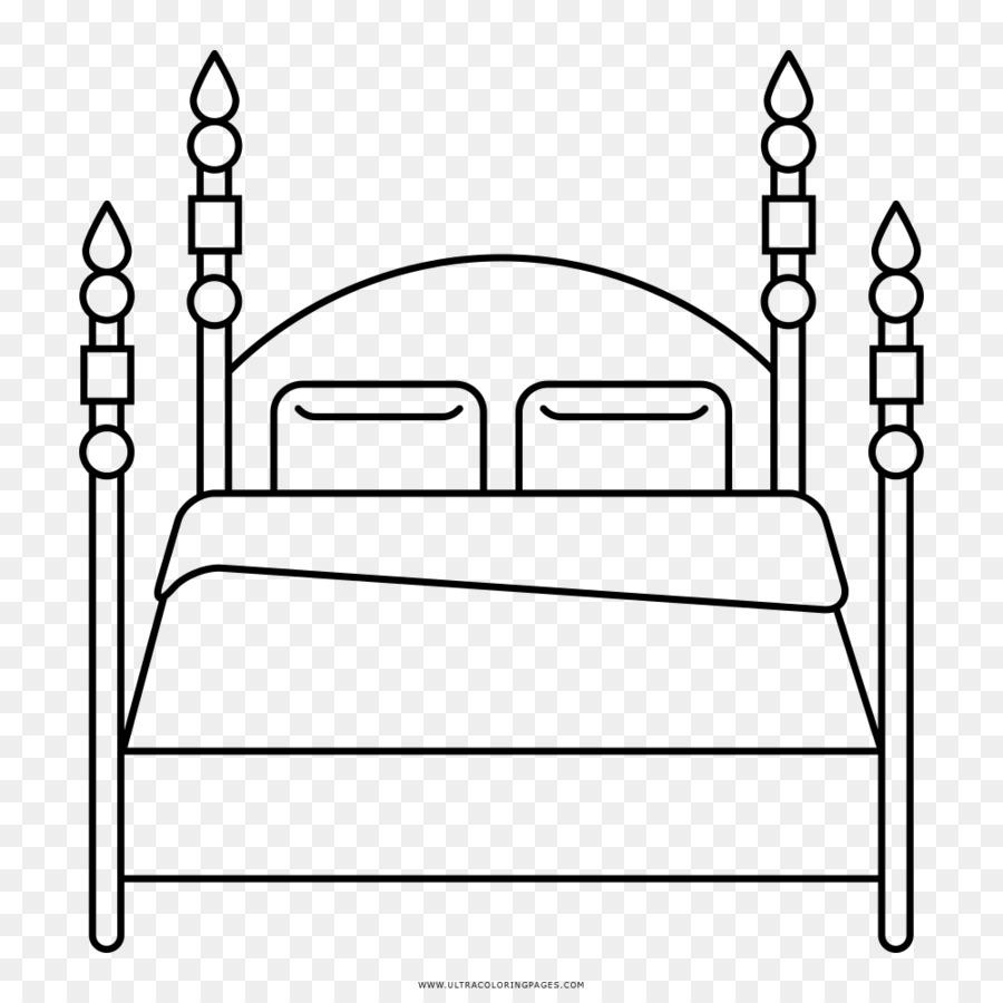 Muebles de libro para Colorear Litera de Dibujo - cama Formatos De ...