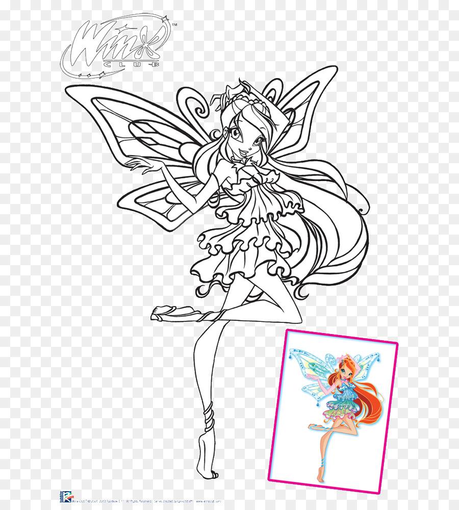 Winx Club Kleurplaten Roxy.Bloom Stella Musa Tecna Roxy Clud Png Download 700 1000 Free