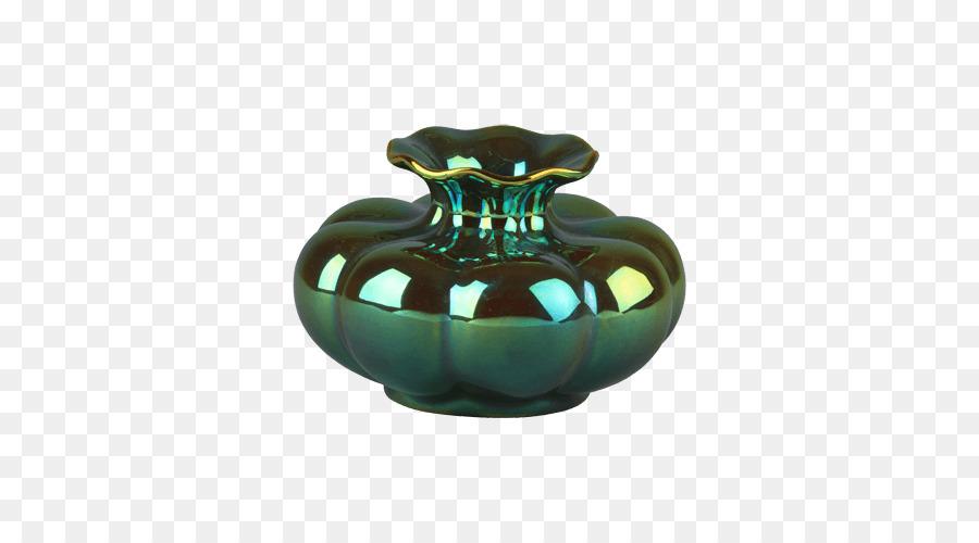 Vase Ceramic Zsolnay Eozin Pottery Vase Png Download 500500