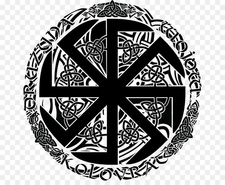 Slavs Symbol Norse Mythology Kolovrat Runes Symbol Png Download