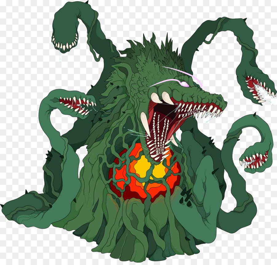 Biollante Vs King Ghidorah